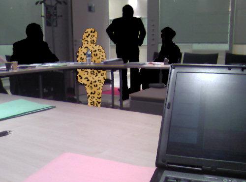 Cécile de Volanges en salle de réunion