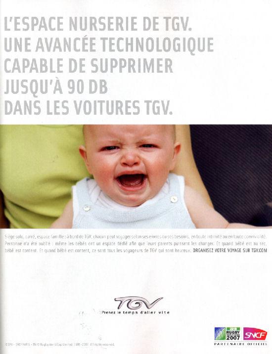 Publicité SNCF