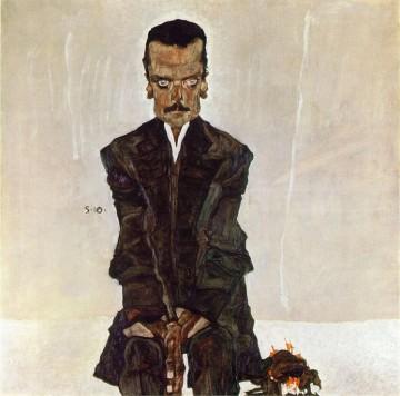 Schiele, Portrait de Kosmack
