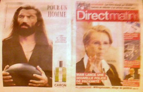 En couverture du journal Direct Matin