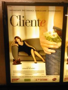 L'affiche du film Cliente