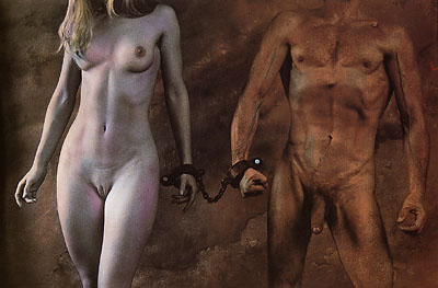 the chains of love n°3 - Saudek -1987
