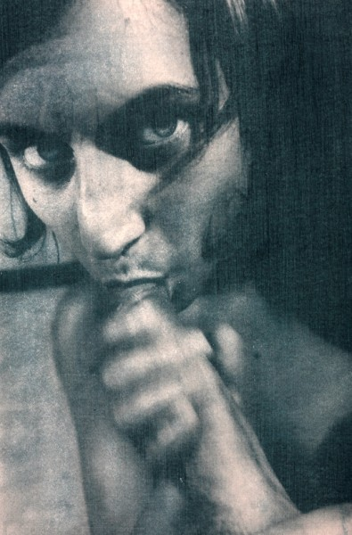 Une photeo Laurent Benaïm (et un joli regard noir)