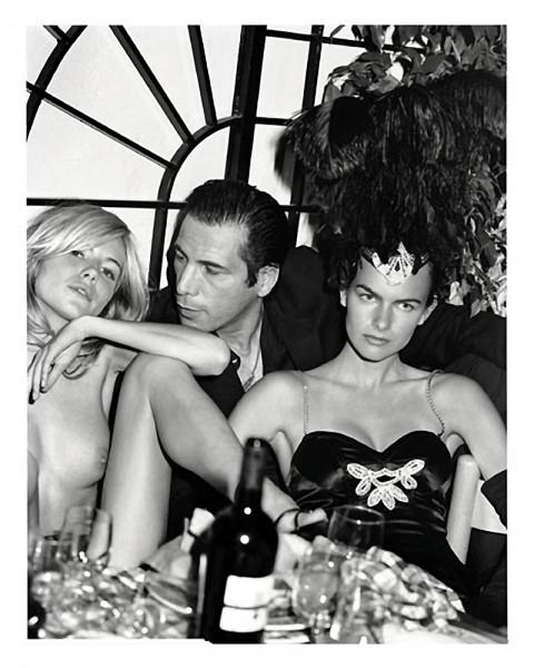 Sienna Miller et Filippa Hamilton, par Bruce Weber pour le calendrier Pirelli 2003