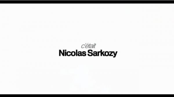 C'était Nicolas Sarkozy