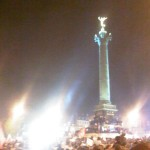 Place de la Bastille, 6 mai 2012, 23 h 24 - I was there!