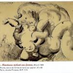 Minotaure violant une femme - Picasso, juin 1933