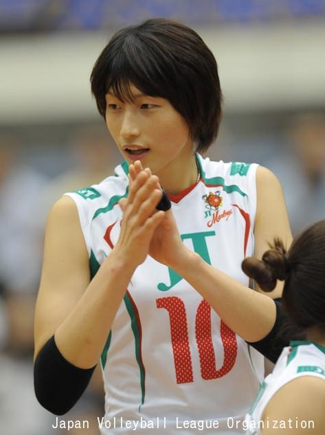 Kim Yeon-Koung qui encourage ses coéquipières