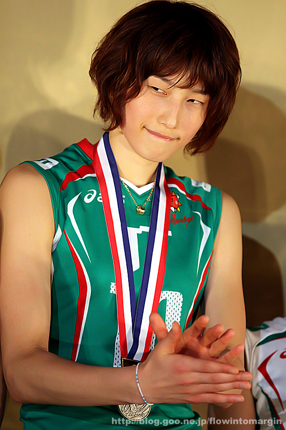 Kim Yeon-Koung qui fait une jolie mine