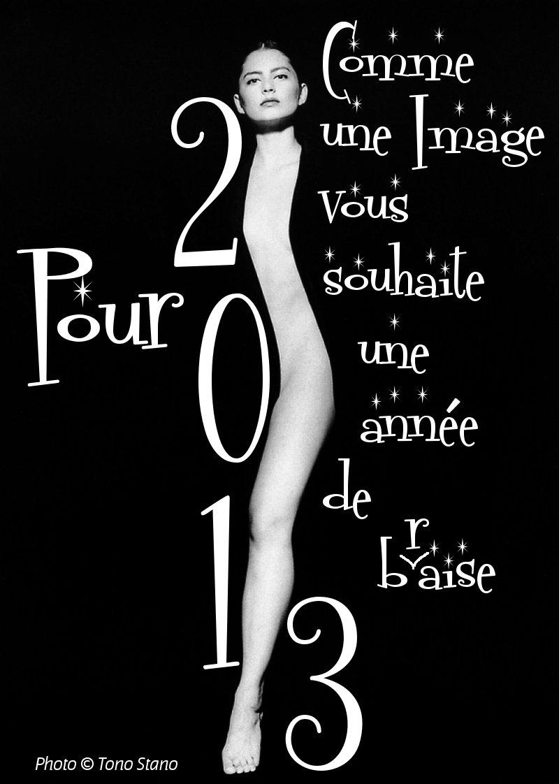 Pour 2013, Comme une Image vous souhaite une année de b(r)aise - photo © Tono Stano