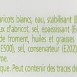 Composition de la Galette goût amande Erté Ingrédients : fourrage 45% [sucre, graines de soja, haricots blancs, eau, stabilisant (E422), dextrose, amidon modifié de pomme de terre, huiles et graisses végétale, farine de froment, noyaux d'abricot, sel, épaississant (E466, E440), fibre alimentaire, arôme, acidifiant (E33O, E331), vitamine (A, D3), émulsifiant (E471)], farine de froment, huiles et graisses végétales, sucre, sirop de glucose et fructose, jaune d'œuf, amande 0,5%, poudra à lever (E503, E450, E500), sel, conservateur (E202), colorant (E160a), amidon (blé), cannelle, acidifiant (E330, E331), vitamine (A, D3), émulsifiant (E471), arôme.