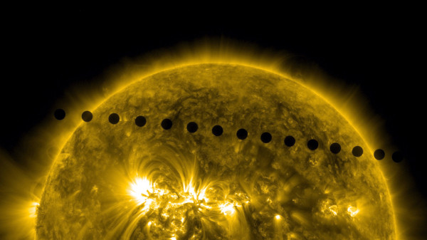 Transit of venus - photo © Nasa