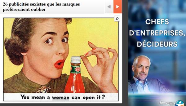publicités sexistes