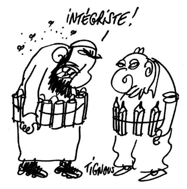 Un dessin de Tignous (que j'ai découvert dans le journal de l'Apec!)