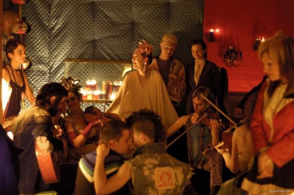 Une photo extraite du film Shortbus, utopie dont l'esprit planait sans doute sur cette soirée.