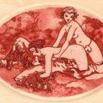 Louis Icart - série Rouge Éros