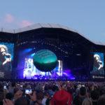 The Cure sur la grande scène du festival