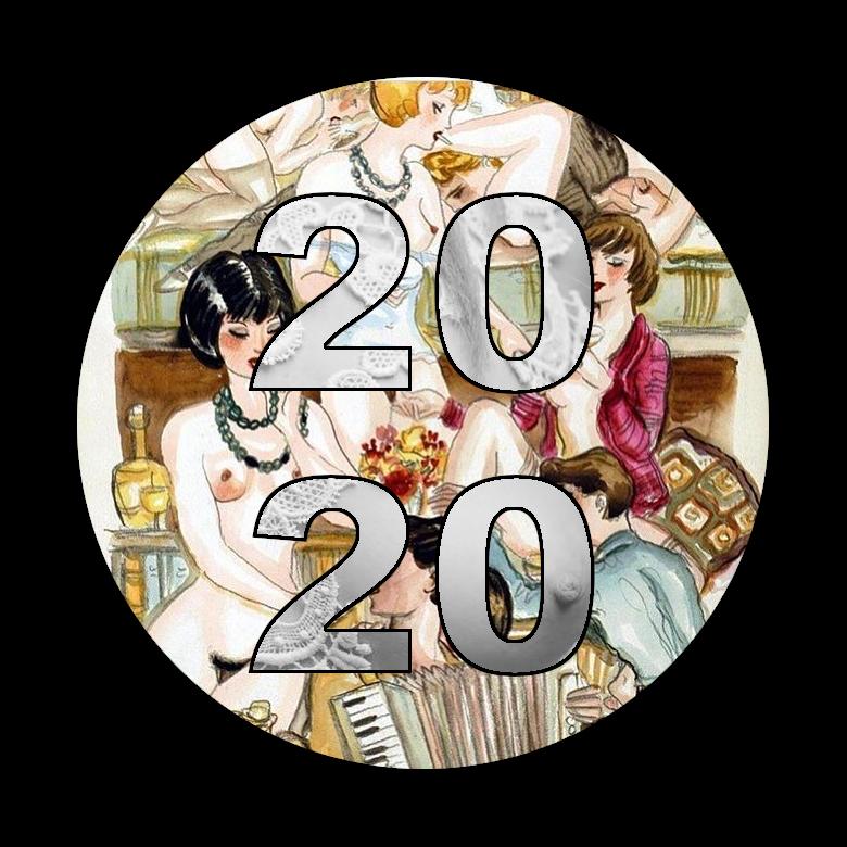 Que 2020 vous apporte 366 belles occasions de vivre fort, rire, baiser, partager, créer, jouir et vous épanouir (en gardant la santé!)